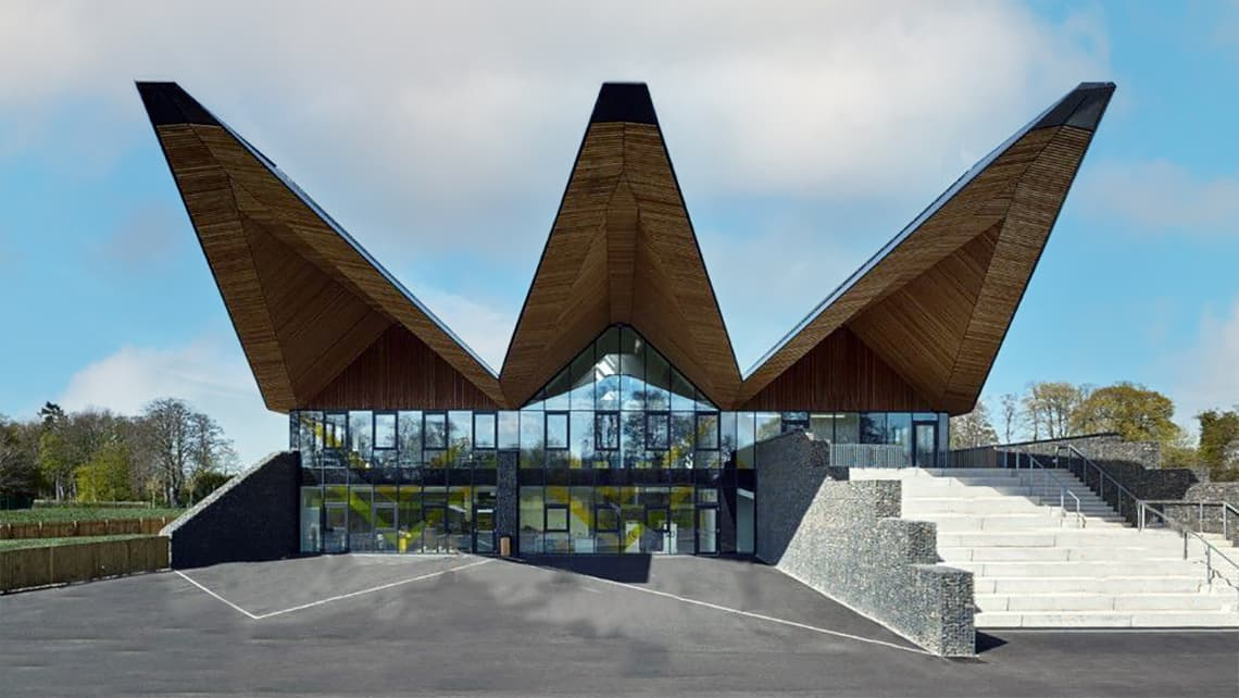 Broomlands Primary School Building wins 2018 GIA Education Building and  2018 Borders Design Award   Frenger Systems UK