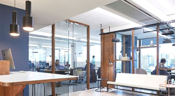Chilled Beam Architecture and Design - Celluar Office