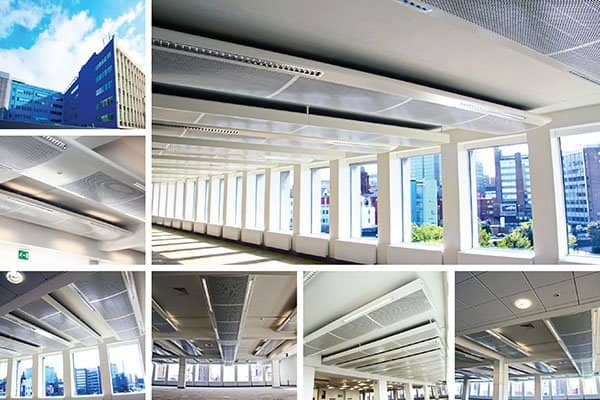 Multi Service Chilled Beams Frenger Systems Uk