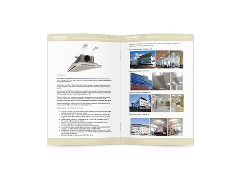 Chilled Beam Healthcare Projects Brochure